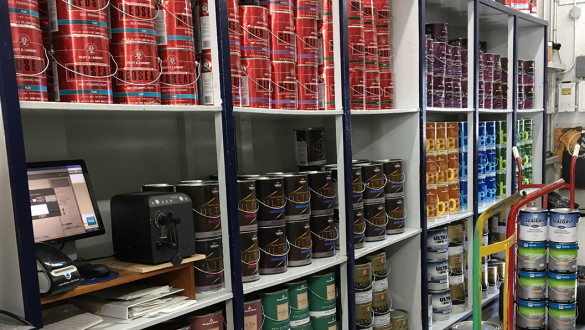Paint Store Wallpaper Supplies Painting Staining